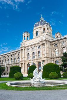 Free Natural History Museum, Vienna Stock Photos - 17852043