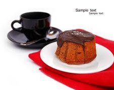 Free Chocolate Cupcakes Royalty Free Stock Photo - 17852425