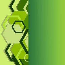 Free Stylish Green Banner Stock Photos - 17852613