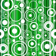 Free Seamless Green Background With Circles Stock Image - 17852631