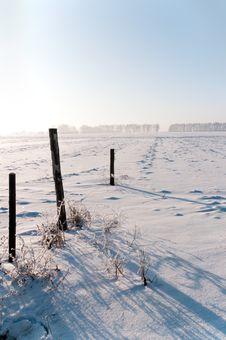 Free January Frosty Morning Stock Photography - 17852922