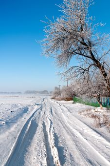 Free Silent Russian Village In The Winter 2 Stock Photo - 17853040