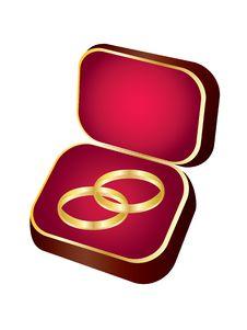 Free Wedding Rings. Stock Photos - 17853093