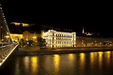 Beautiful Streets Of Budapest Royalty Free Stock Photo