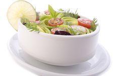 Free Bowl Of Spring Salad Royalty Free Stock Photo - 17853145