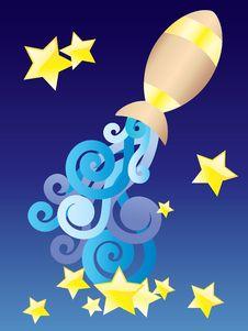 Free Zodiac Sign - Aquarius. Stock Photography - 17853302