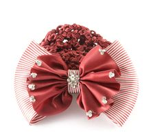Red Barrette Royalty Free Stock Image