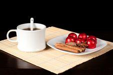 Free Tea Set. Royalty Free Stock Photos - 17854278
