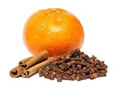 Free Cinnamon, Clove And Tangerine Stock Photo - 17854440