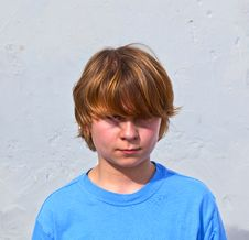 Free Portrait Of Cute Young Boy Royalty Free Stock Photo - 17854475