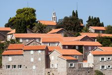 Free Roofs Of Hotel St. Stefan. Stock Images - 17854634