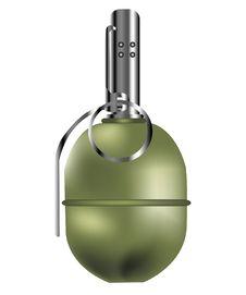 Free Manual Fragmentation Grenade Royalty Free Stock Photography - 17854687