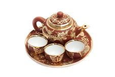 Free Chinese Tea Set Royalty Free Stock Photo - 17855445