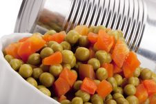 Free Canned Peas Royalty Free Stock Photos - 17855618