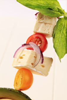 Free Cheese Hors D Oeuvre Stock Photography - 17855712