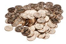 Free Metal Dollars Royalty Free Stock Photography - 17855797