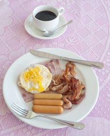 Free Breakfast Royalty Free Stock Photos - 17855898