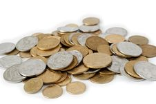 Free Coins Royalty Free Stock Image - 17855956