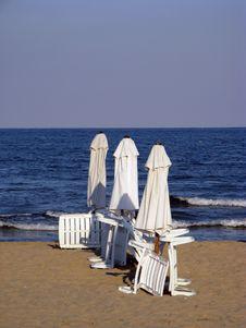 Free Empty Beach Royalty Free Stock Photo - 17856635