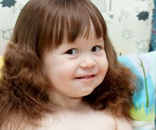 Free Sweet Baby Girl Stock Image - 17856951