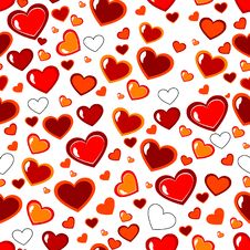Free Red Heart Royalty Free Stock Images - 17857569