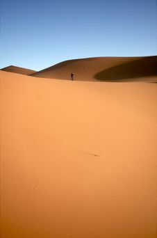 Free Alone In The Desert Stock Images - 17858124