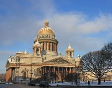 Free Saint Isaac's Cathedral Royalty Free Stock Image - 17858796