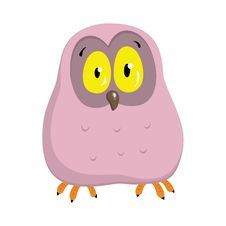 Free Cartoon Owlet Royalty Free Stock Image - 17859066