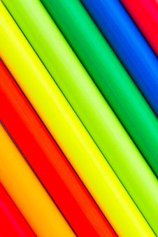 Free Ultra-bright Multi Colored Pencils Royalty Free Stock Images - 17859139