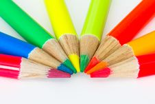 Color Pencils Background Royalty Free Stock Images