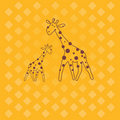 Free Giraffe .  Vector Illustration Stock Photo - 17860090