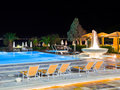 Free Water Pool And Fountain At Night Royalty Free Stock Photos - 17868408
