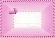 Love Envelope Stock Images
