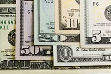 Free Various American Money Royalty Free Stock Image - 17860406