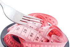 Free Measuring Tape Royalty Free Stock Image - 17860736