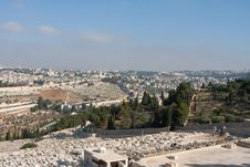 Free Jerusalem View Royalty Free Stock Photography - 17861567