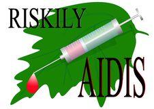 Free Riskily Infect AIDIS Stock Photography - 17861682