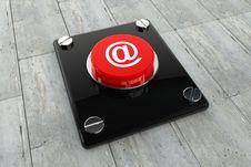 Free E-Mail Symbol Button Stock Photos - 17861713