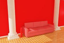 Free Sofa With Column Royalty Free Stock Photo - 17861735