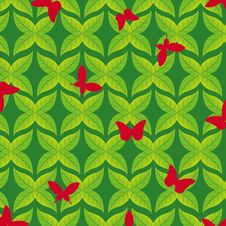 Free Spring Seamless Pattern Royalty Free Stock Images - 17861769