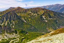 Free Mountain Landscape Royalty Free Stock Photo - 17862015