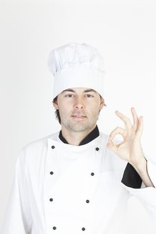 Free Professional Male Chef Stock Photography - 17862742
