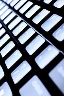 Free Close-up Keyboard Royalty Free Stock Images - 17863239