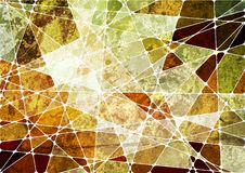 Free Grunge Geometric Mosaic Background Stock Photography - 17863632