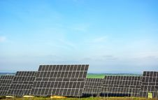 Free Photovoltaic Panels . Royalty Free Stock Image - 17863796