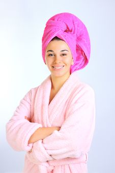 Free Woman After Bath Stock Photo - 17864170