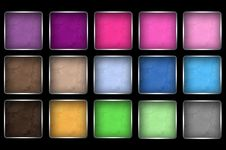 Free Makeup Eye Shadow Palettes Stock Photo - 17864220