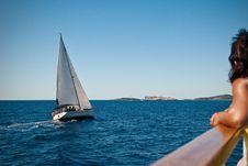 Free Sailboat In Croatia Royalty Free Stock Images - 17864879