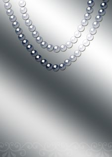 Free Beautiful Pearl Necklace Stock Photo - 17865010