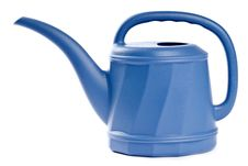 Free Blue Watering Can Stock Photography - 17865162